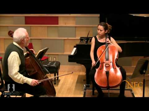 Paul Katz Master Class: Bach Suite no.2 in D Minor, BWV1008