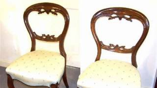Victorian Cabriole Chairs