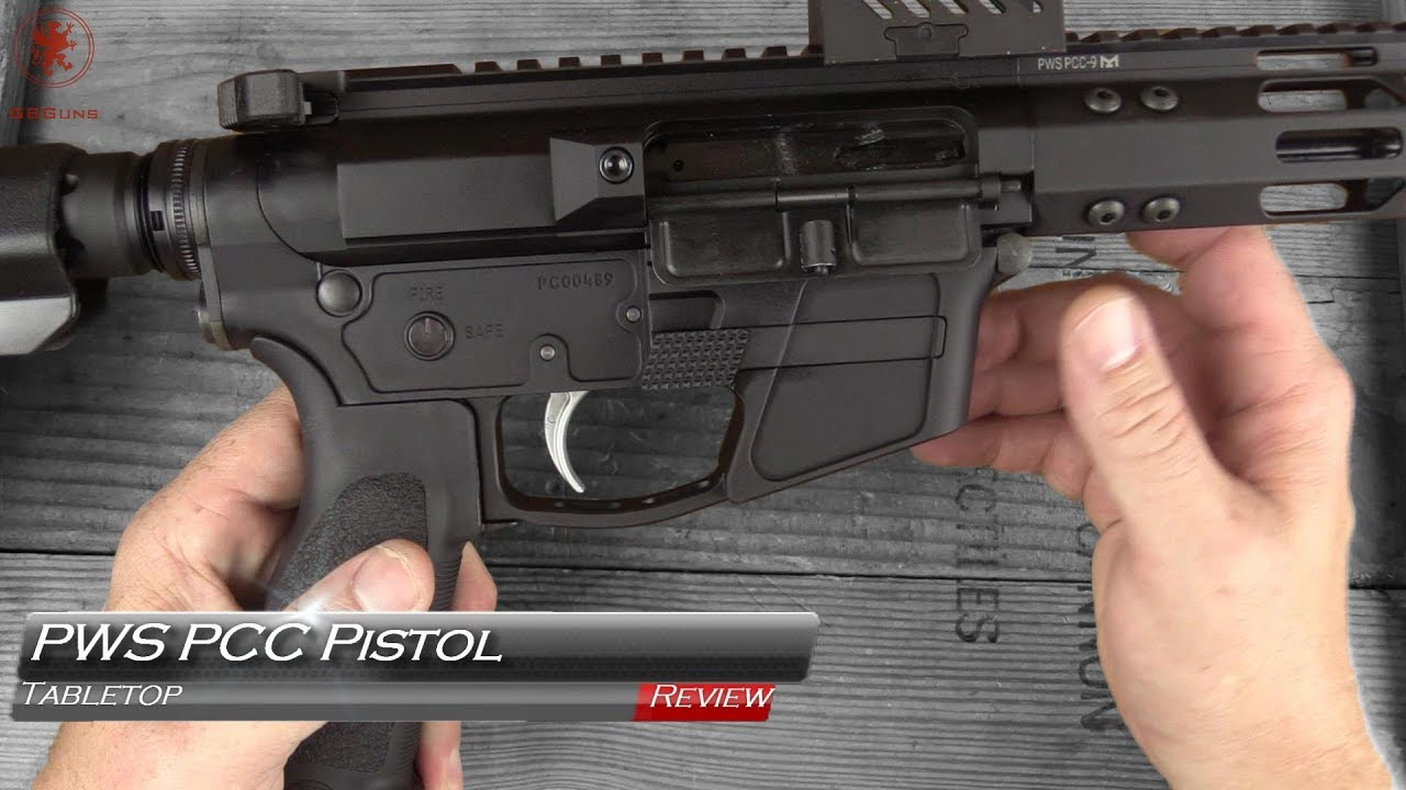 Primary Weapons Systems PCC Pistol Tabletop Review
