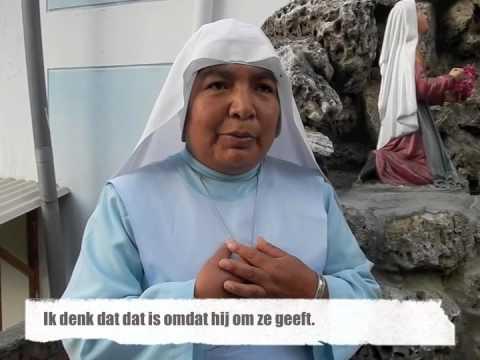 Al 25 jaar non: Interview met Madre Vilma