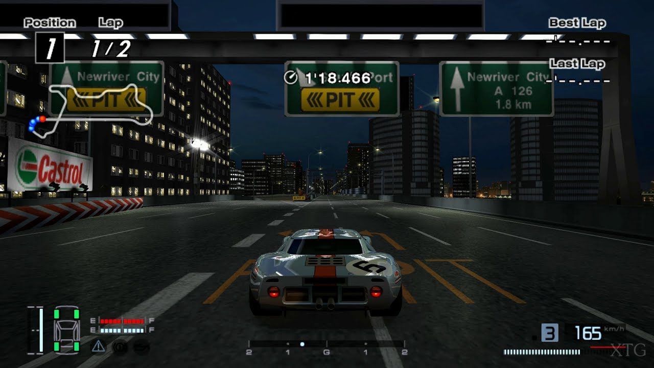 Ford GT40 Race Car '69 PS2