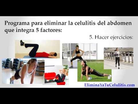 Como Eliminar La Celulitis Del Abdomen -