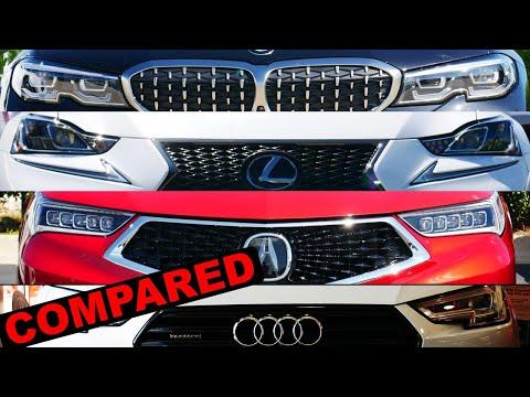 2020 Bmw 3 Series Vs 2019 Audi A4 Vs 2020 Acura Tlx Vs 2019