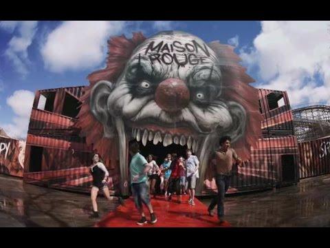 La Ronde présente « Maison Rouge - Labyrinthe de la terreur »