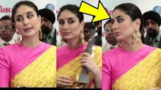 Omg ! Kareena Kapoor Khan gets irritated and leaves interview when no one asked her questions