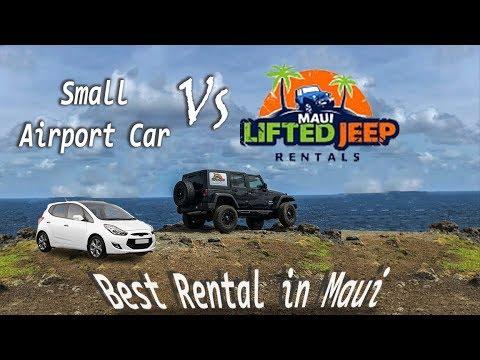 Why You Should Rent A Jeep On Maui!