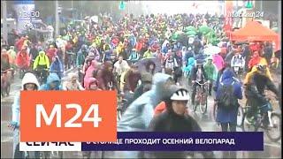 В осеннем велопараде принимают участие 35 тысяч человек - Москва 24