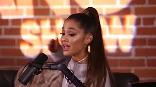 Filler Words (from an interview with Ariana Grande)