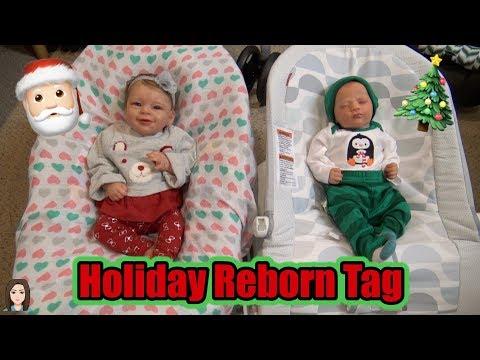 Holiday Reborn Tag | Kelli Maple