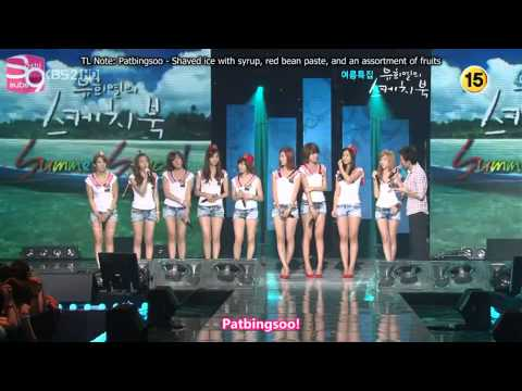 [HD]Gee+Genie+Etude-Girl's Generation(SNSD)소녀시대,少女時代 Sketchbook 09/07/31