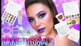 OFRA COSMETICS X NIKKIE TUTORIALS   ELECTRO GLAZE COLLECTION   Ofra Makeup Tutorial   Victoria Lyn