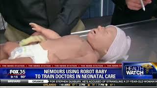 Новое поколение роботов симуляторов новорожденного в обучении медиков