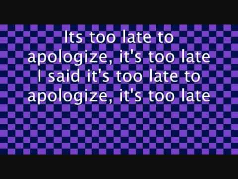 screenwriting an apology song meaning