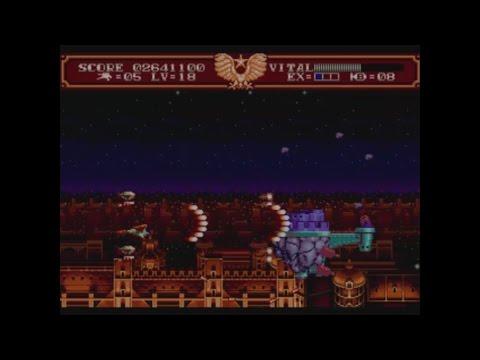 Steel Empire (Megadrive) - ¡Completo y comentado! Análisis 1cc