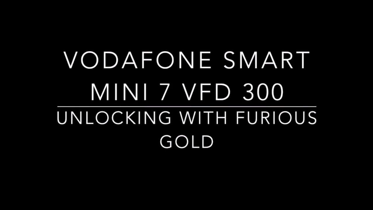 How To Unlock VODAFONE Smart Mini 7 VFD 300 WITH FURIOUS GOLD OT SMART TOOL