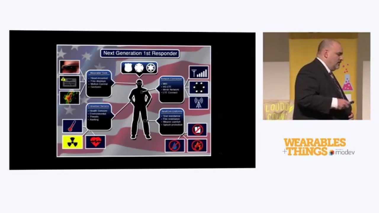 Wearable Technologies for First Responders - YouTube