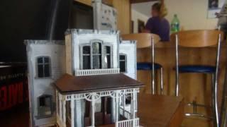 POLAR LIGHTS PSYCHO HOUSE KIT BUILD
