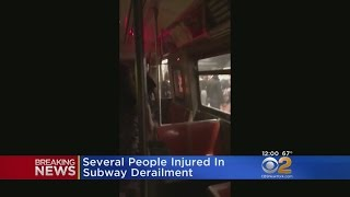2 Trains Derail In Harlem