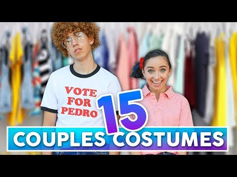 15 Easy BEST FRiEND or COUPLES Halloween Costumes | Boyfriend and Girlfriend Halloween 2019