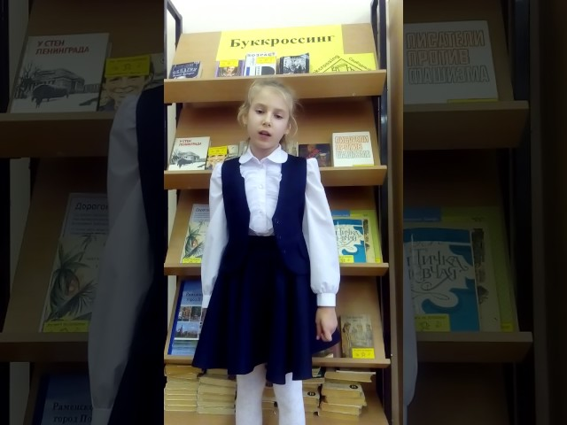 Изображение предпросмотра прочтения – АнастасияГаврина читает произведение «Палочка-выручалочка» В.Я.Брюсова
