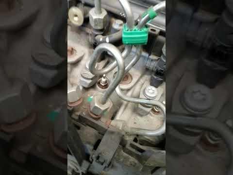 Df053 problème de pression du là rail