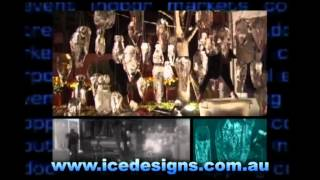 Live Performance Ice - Ice Carving By Down Under Ice Designs