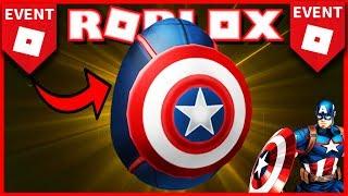 *EVENT* OWN Captain America [AVENGERS]🌟 [Roblox EGG HUNT 2019]