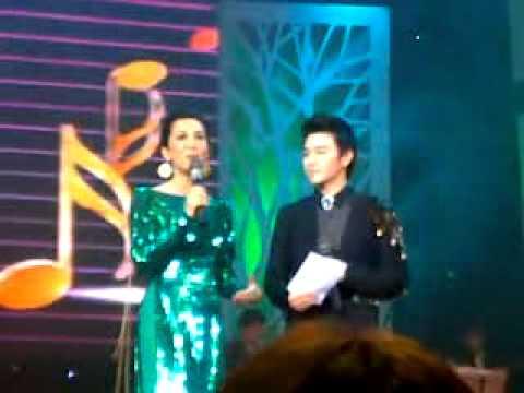 Kỳ Duyên sánh vai cùng Phan Anh trên sân khấu Hà nội
