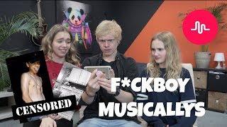 WIJ REAGEREN OP F*CKBOY MUSICALLYS?! || BEAU - TIFULL