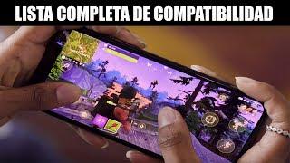 Lista Completa de Teléfonos Android Compatibles con Fortnite