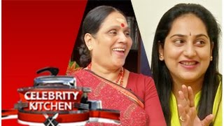 Shanthi Williams and Gayathri  in Celebrity Kitchen (23/11/2014)