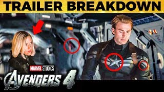 UNNOTICED: Avengers - End Game Trailer Breakdown | TK