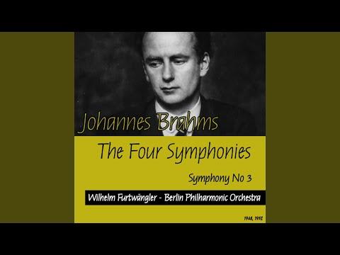Johannes Brahms : Symphony No3 - I. Allegro con brio
