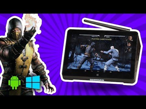 android ve windowslu ilginç mini bilgisayar azemax x7