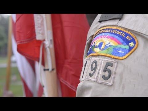 Boy Scouts celebrate Memorial Day