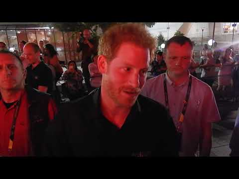 Prince Harry, Invictus Games, I am Toronto, CN Tower, Ontario, Canada, Rootz Reggae Radio