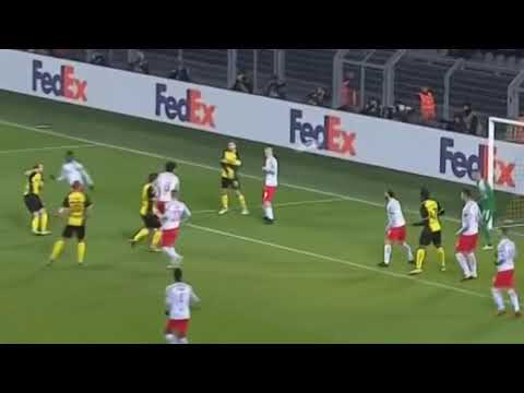 Borussia Dortmund 1-2 RB Salzburg ● Goals & Highlights ● Europa League 2017/18 |1080p