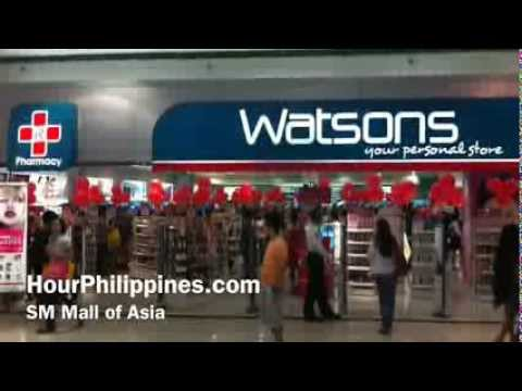 Watsons Your Personal Store SM Mall of Asia Pasay City Manila Philippines by HourPhilippines.com