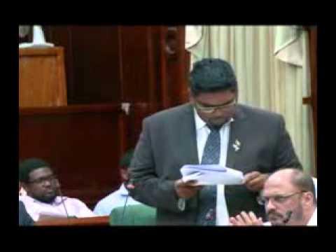 2014 Budget Debate Presentation: Minister of Housing & Water, Irfaan Ali