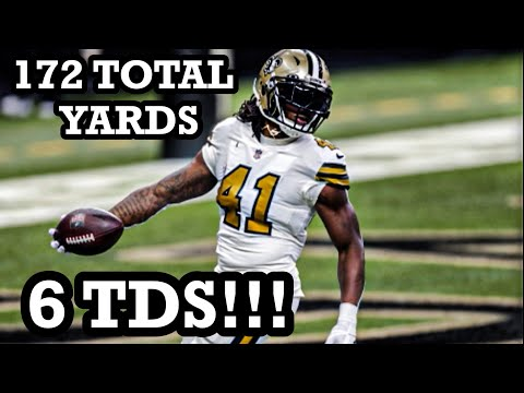 Alvin Kamara's HISTORIC 6-TD Christmas Night! | Saints vs Vikings Week 16 Highlights
