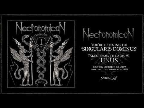 "Necronomicon - ""Singularis Dominus"" (Official Track Premiere)"