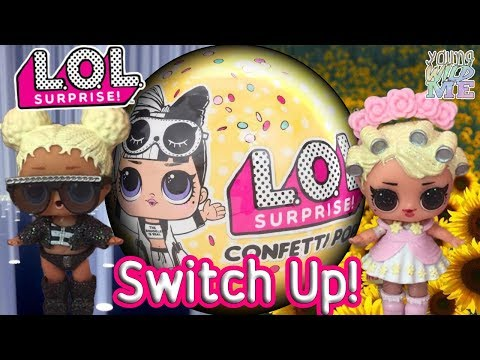 LOL Dolls Fun Outfit Switch Up Doll Challenge LOL Surprise Series 3 Wave 2 Unboxing + Weight Hack