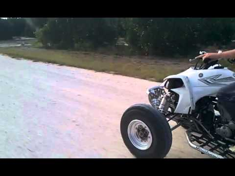 Yfz 450 top speed - YouTube