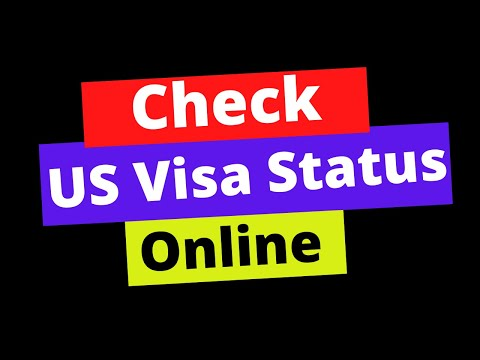 🔴 How To Check US Visa Status