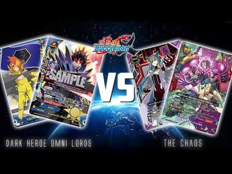 Future Card Buddyfight Deck battle : Dark Hero Omni Lords VS Autodeity CHAOS (X2-BT01A)