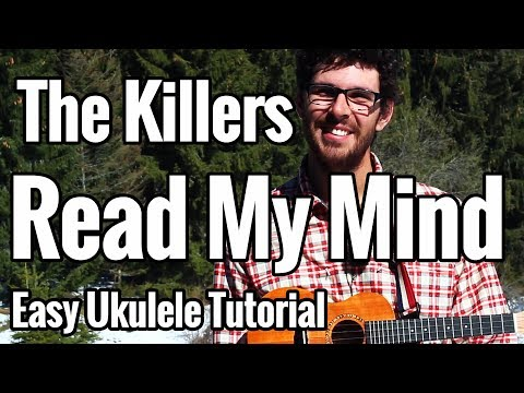 The Killers - Read My Mind - Ukulele Tutorial With Chords And Play Along