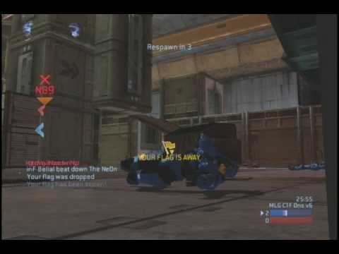MH09 WBF Inferno vs Bass Industries Game 1 - CTF on Onslaught by Chaos