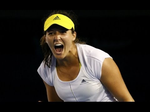 Laura Robson VS Petra Kvitova Highlight 2013 AO R2