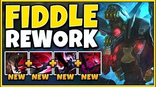 FIDDLE GOT A COMPLETELY NEW REWORK AND IT BROKE THE GAME - League of Legends