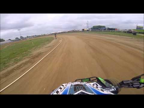 ATV flat track racing Mid America Speedway